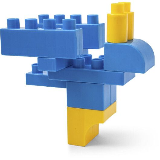 """Kids Blocks"" конструктор 70 ел. (в банці) - 2"
