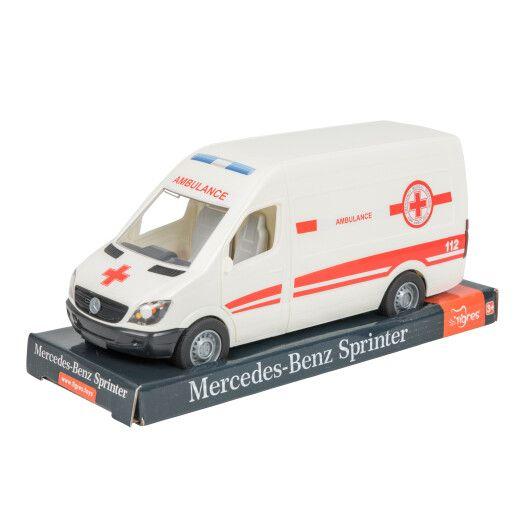 "Автомобіль ""Mercedes-Benz Sprinter"" швидка допомога, на планшетці, Tigres"
