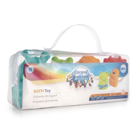 Canpol babies Іграшка для купання Звірята 4 шт. - 10