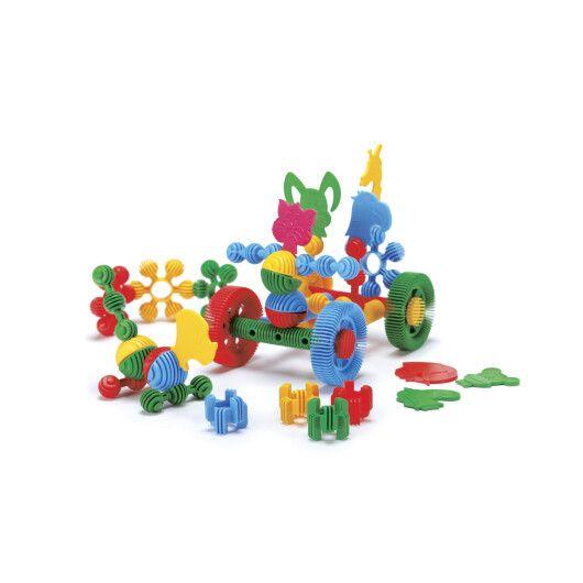 """Конструктор """"Funny blocks"""" - 58 шт (велика банка) - 2"""