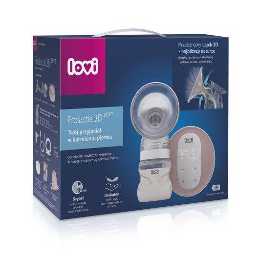 LOVI Молоковідсмоктувач електричний 2-фазний Prolactis 3D Soft - 4