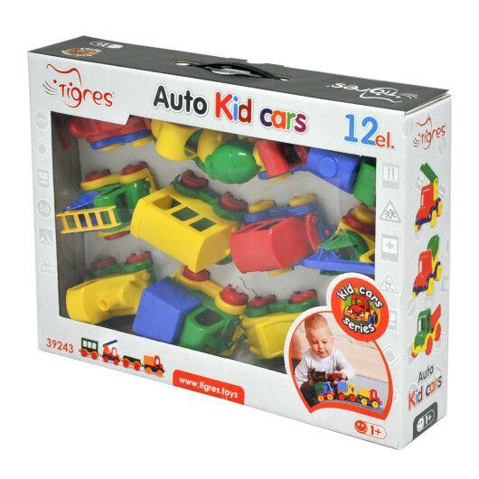 "Авто ""Kid cars"" 12 шт. - 18"