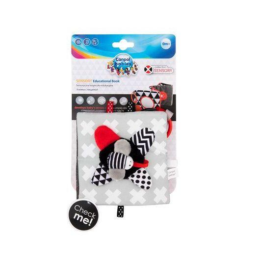 Canpol babies Іграшка-книжечка м'яка розвиваюча Sensory Toys - 13