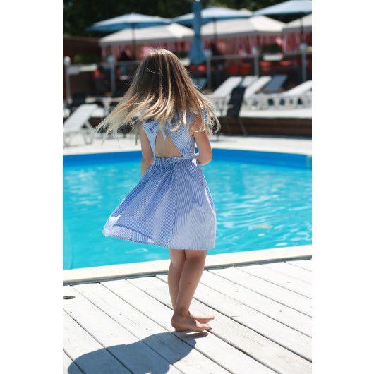 """Сукня в смужку """"Морська прогулянка"""" Tigres - 3"""