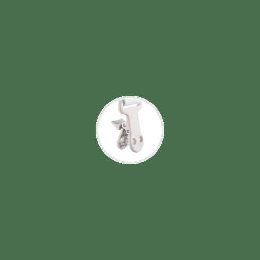 Canpol babies Ланцюжок до пустушки ROYAL BABY - рожевий - 8