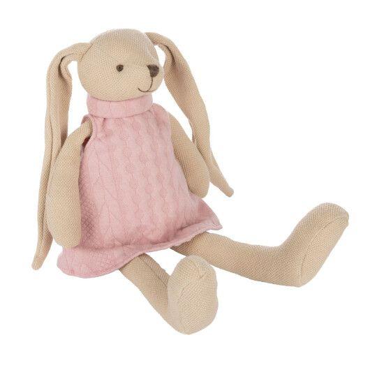 Canpol babies Іграшка м'яка Кролик - рожева - 4