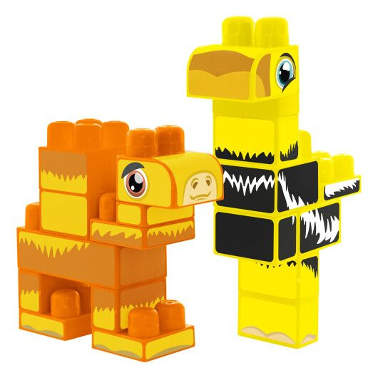 """""""Baby Blocks"""" конструктор Сафарі - страус & верблюд - 2"""