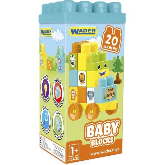 """""""Baby Blocks"""" Мої перші кубики - 20 шт (в коробці)"""