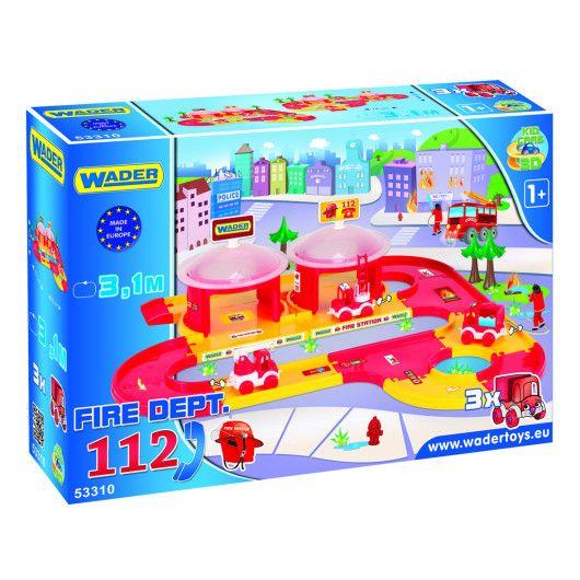 """""""Kid Cars 3D"""" - набір пожежна - 2"""