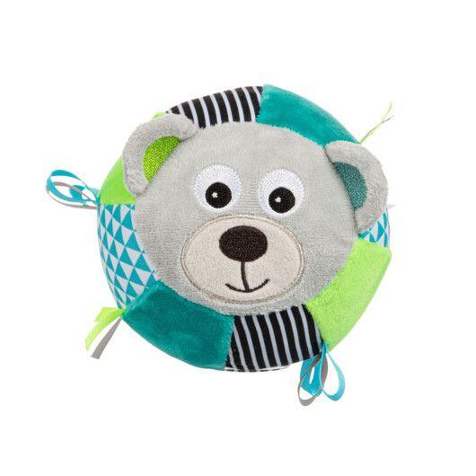 Canpol babies Іграшка-м'ячик м'яка з дзвоником BEARS - сіра - 3