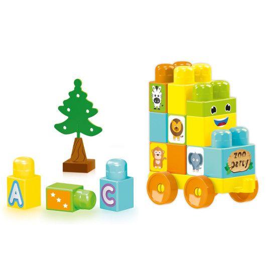 """""""Baby Blocks"""" Мої перші кубики - 30 шт (в коробці) - 2"""