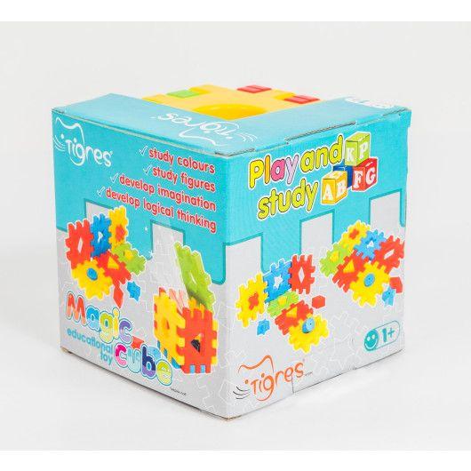 """Развивающая игрушка """"Волшебный куб"""" 12 элементов в коробке - 2"""