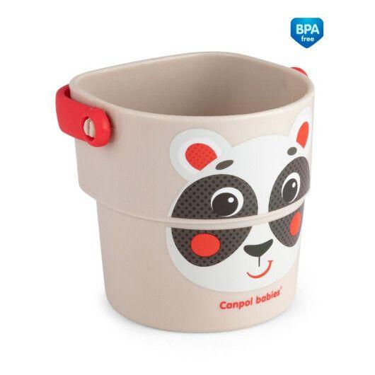 Canpol babies Іграшка-кружечки для купання HELLO LITTLE 3 шт. - 4