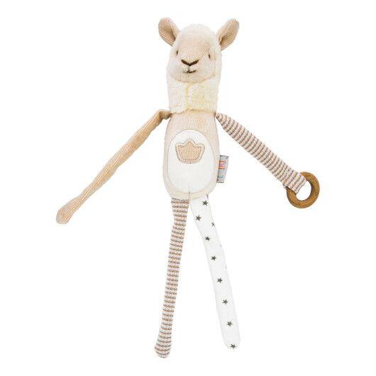 Іграшка - брязкальце лама Семмі, ELFIKI - 2