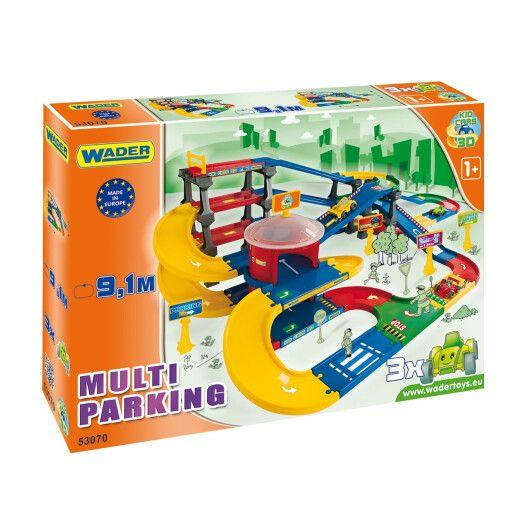 """Kid Cars 3D"" - паркінг з трасою (9,1 м)"