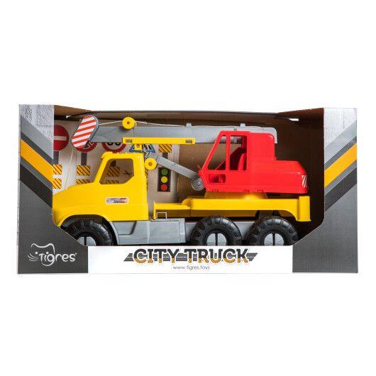 """Авто """"City Truck"""" кран в коробці - 3"""