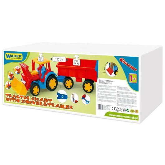 """Трактор """"Гігант"""" з причіпом та ковшем - 2"""