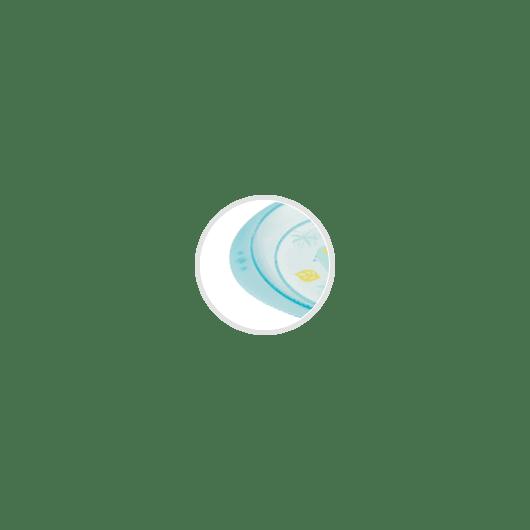 Тарілка пластикова - 3