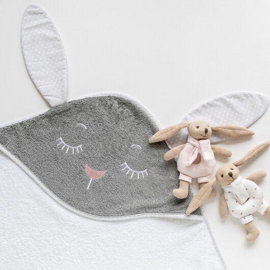 Canpol babies Іграшка-брязкальце м'яка Кролик - рожева - 12