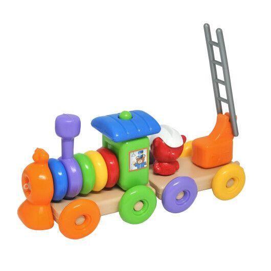 """Іграшка розвиваюча """"Funny train"""" 23 ел., Tigres - 2"""