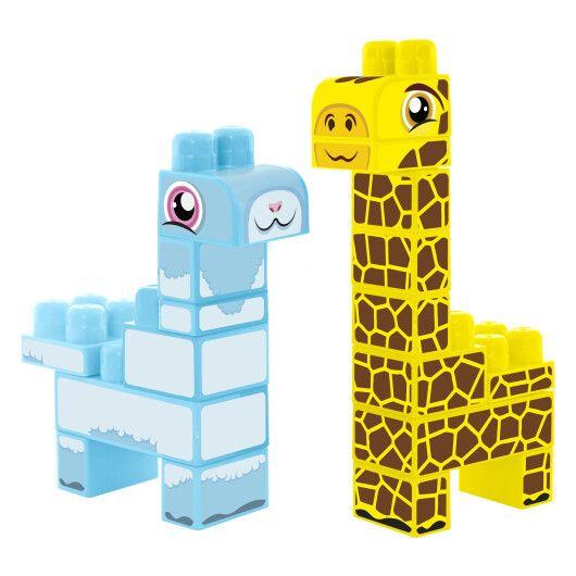 """Baby Blocks"" конструктор Сафарі - жирафа & лама - 2"