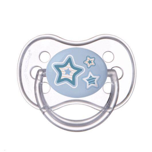 Пустушка силіконова кругла 6-18 м-ів Newborn baby - 2