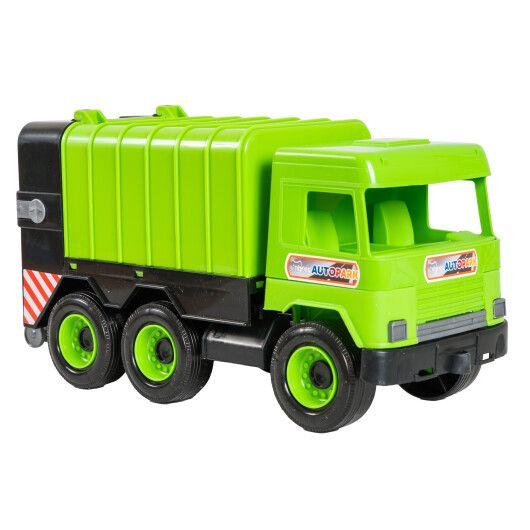 """Авто """"Middle truck"""" сміттєвоз (зелений) в коробці - 2"""