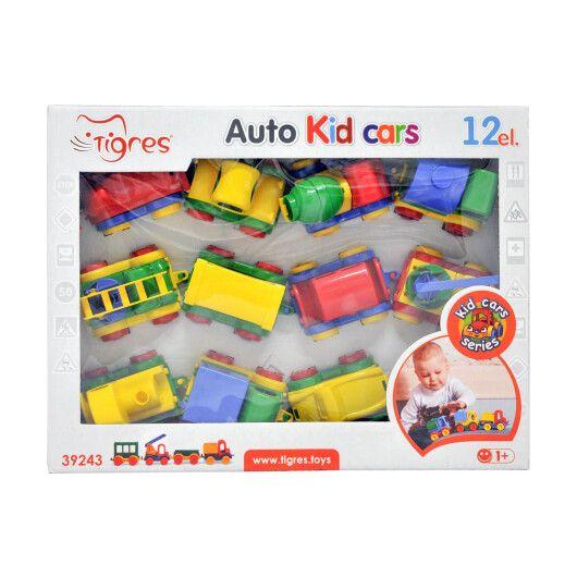 "Авто ""Kid cars"" 12 шт. - 17"