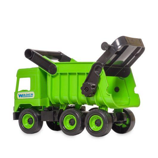 """Авто """"Middle truck"""" самосвал (зеленый) в коробке"""