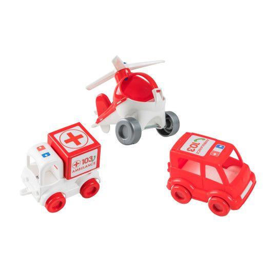 """Набір авто """"Kid cars"""" швидка - 2"""