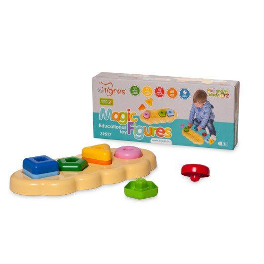 """Іграшка розвиваюча """"Магічні фігурки"""" 8 ел. в коробці - 2"""