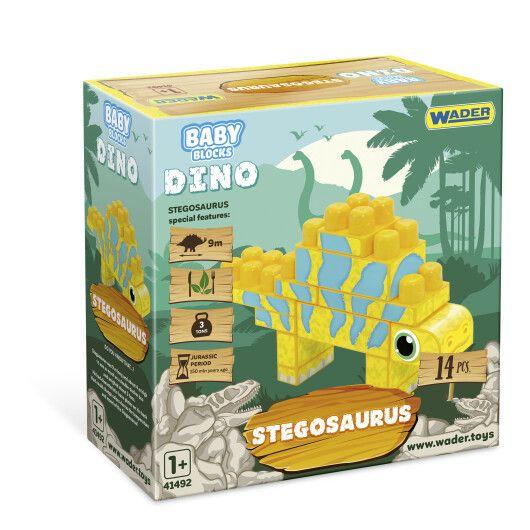 """""""Baby Blocks"""" конструктор Діно - стегозавр"""