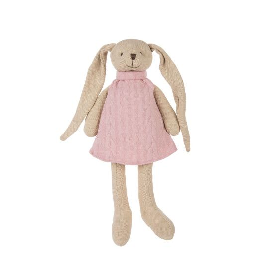Canpol babies Іграшка м'яка Кролик - рожева