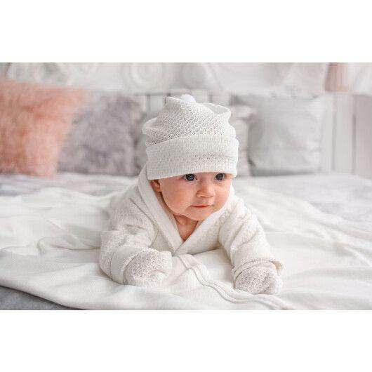"""Комплект для немовлят """"Ніжність"""" 5 ел., р.62, Tigres - 4"""