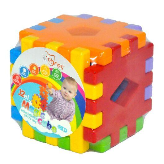 """Іграшка розвиваюча """"Чарівний куб"""" 12 ел."""