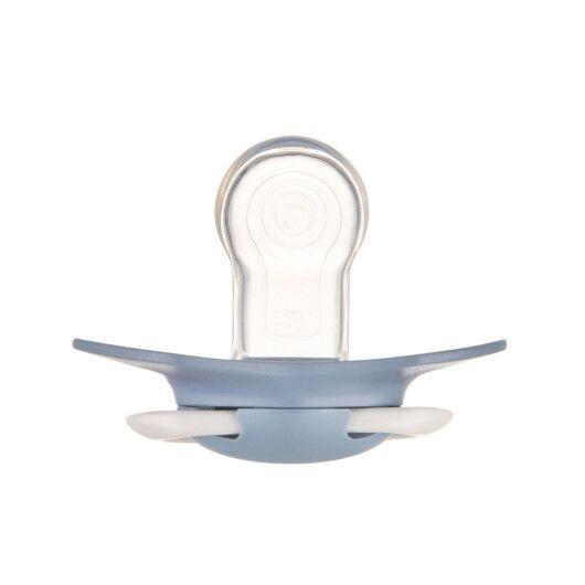 Canpol babies Пустушка силіконова симетрична 18+ м-ців 2 шт. Pure Color - синя - 7