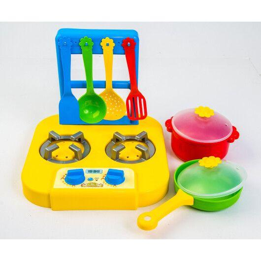 """Набір посуду столовий """"Ромашка"""" з плиткою 7 ел. - 5"""