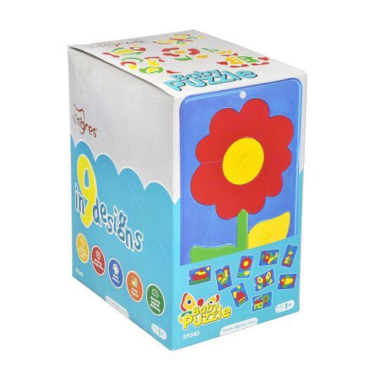 """Іграшка розвиваюча """"Baby puzzles"""" бокс 9 шт."""