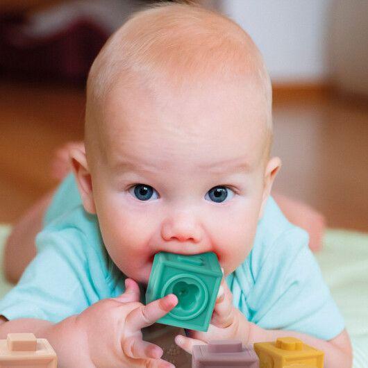 Canpol babies Іграшка-конструктор м'яка - 8