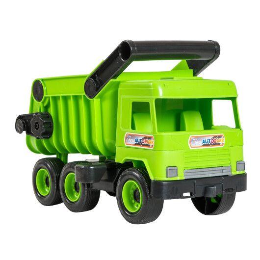 """Авто """"Middle truck"""" самоскид (зелений) в коробці - 3"""