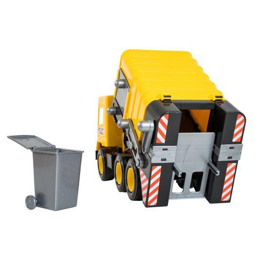 """Авто """"Middle truck"""" сміттєвоз (жовтий) в коробці - 3"""