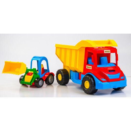 """""""Multi truck"""" вантажівка з трактором - 2"""