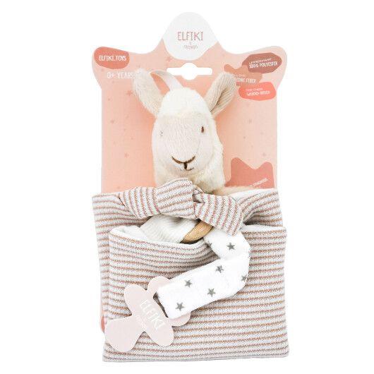 Іграшка - текстильна лама Семмі, ELFIKI - 2