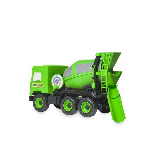 """Авто """"Middle truck"""" бетонозмішувач (зелений) в коробці - 4"""