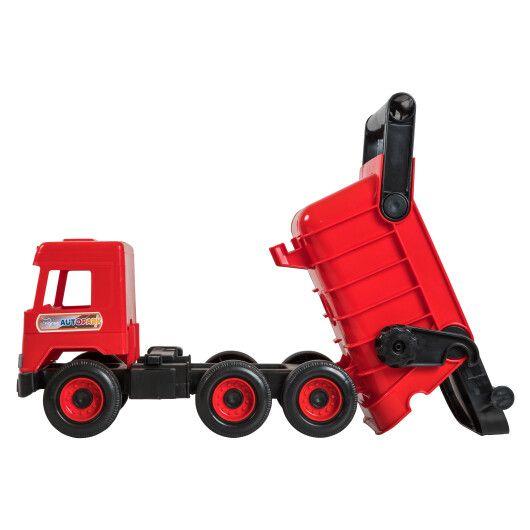 """Авто """"Middle truck"""" самоскид (червоний) в коробці - 3"""