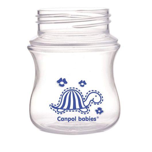 Пляшка з широким отвором антиколікова Easystart - Кольорові звірята 120 мл - 2