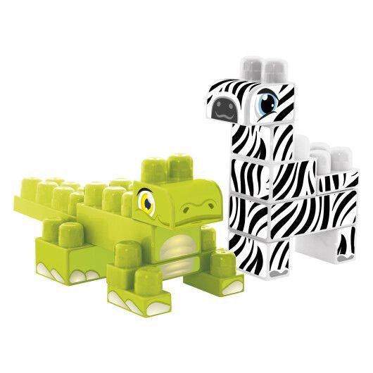 """Baby Blocks"" конструктор Сафарі - крокодил & зебра - 2"