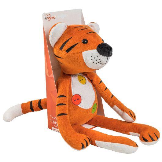 """Тигрик """"Обіймашка"""", 45 см, Tigres - 3"""