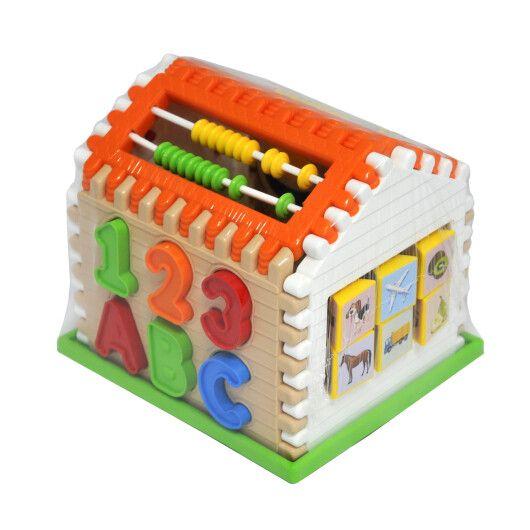"""Іграшка-сортер """"Smart house"""" 21 ел., Tigres"""