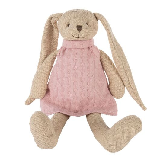 Canpol babies Іграшка м'яка Кролик - рожева - 3
